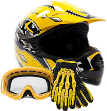 motorcycle protective gear amazon com youth offroad gear combo helmet gloves goggles dot