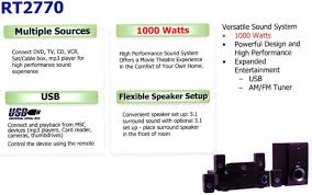 1000 watt rca home theater system download free pdf for rca rt2770 home theater manual