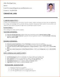 latest resume models sample resume for freshers lecturer job frizzigame sample resume format for lecturer job free resume example and