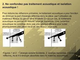 isolation phonique entre 2 chambres acoustique architecturale isolation phonique