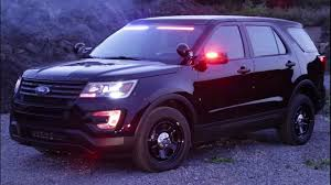 turn off interior lights ford explorer 2016 new 2017 ford explorer police style led lighting youtube