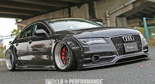 audi a7 r audi a7 s7 get steroid from liberty walk