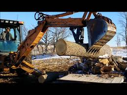 usa attachments backhoe thumb youtube