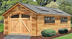 craftsman style 1 car garage with attic roofone plans workshop one