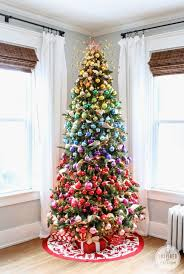 anna and blue paperie 10 best christmas tree decorating ideas