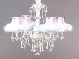shabby chic lamp shades chandelier design image of shade