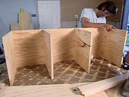 Wood Bench With Storage Plans by How To Build A Rolling Storage Bench Hgtv