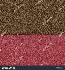 types of red colors leather background two colors types leather stock photo 379367311