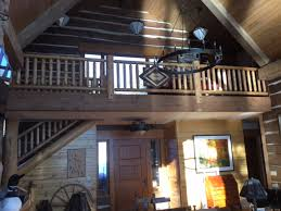 the armstrong creek co featured project log railing log stairway
