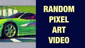 pixel art car fast and furious green car random pixel art video youtube