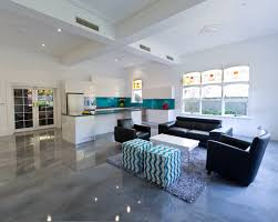 finished concrete floors cosca org amazing 5 basement loversiq seamless floor coatings decorative epoxy silver polished concrete look melbourne home decorators coupon code