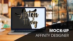 tutorial mock up affinity designer youtube