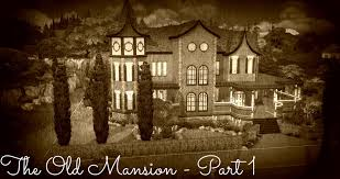Old Fashioned House Sims 4 House Build The Old Mansion Part 1 Youtube