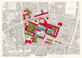 Bell Centre Floor Plan Mapped Barbican Before The Blitz Londonist