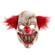 Scary Halloween Clown Costumes Compare Prices Clown Horror Costume Shopping Buy
