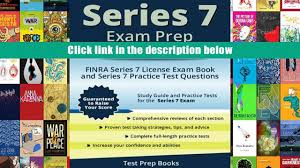 audiobook series 7 exam prep study guide 2015 2016 finra series 7