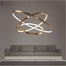 room chandelier lighting fashional dinning room modern chandeliers circle rings led