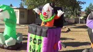 rare halloween inflatable