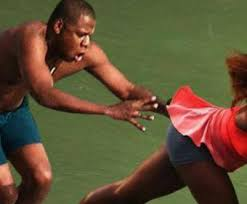 Jay Z Diving Memes - jay z trying to catch serena williams from behind toad media