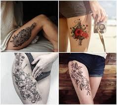 thigh tattoos for women u2013 beautiful ideas and design tips
