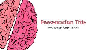 templates for powerpoint brain brain powerpoint template