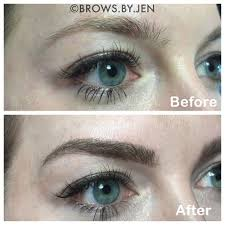 microblading means never having to draw your eyebrows on again