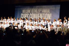 Chicago Cubs Map by 2013 Cubs Convention Day 1 Bleed Cubbie Blue