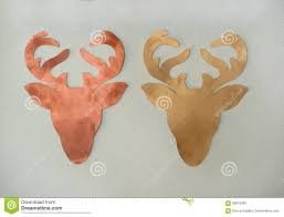 reindeer paper cut out pattern stock image image 68878385