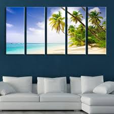 canvas large wall island and on palms canvas