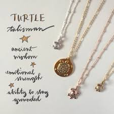 meaning necklace images Sequinsayings meaning of the turtle talisman sequin JPG