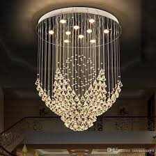 Chandelier Led Lights K9 Crystal Chandeliers Led Modern Chandelier Lights Fixture Flower