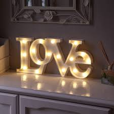 light up letters diy warm white led battery love marquee light up circus letter sign