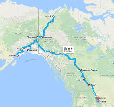 Homer Alaska Map by The Big Yukon Trip Build A Green Rv