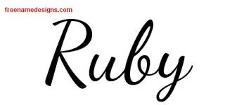 ruby archives page 2 of 2 free name designs
