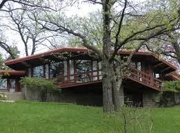 Prairie Home Style Architecture Cool Home Architecture Design Using Aged Dark Brown