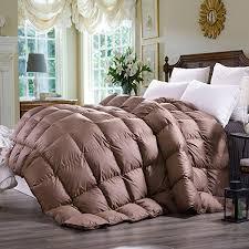 California King Goose Down Comforter Amazon Com C U0026w Luxurious Goose Down Comforter Duvet Insert All