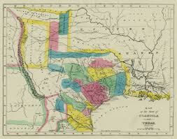 State Map Of Texas by The Munsons Of Texas Maps U2014 1833 Map Of Coahuila And Texas