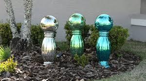 Garden Gazing Globes Plow U0026 Hearth Mercury Glass Gazing Ball With Stand On Qvc Youtube