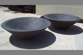 Firepit Bowl by Asian Wok 1 Fire Bowl Concrete Creations