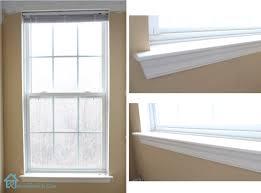bathroom window trim ideas how to replace a window sill 30 best