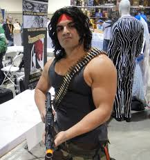 Best Halloween Costumes For Men Rambo Cosplay Long Hair Men Halloween Ideas Costume Guys Long Hair