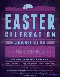 40 best easter church flyer print templates 2017 frip in