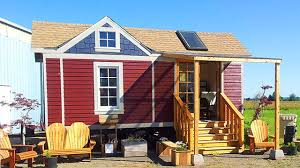 Craftsman Cabin The Beautiful Washington Craftsman Tiny House On Wheels Youtube