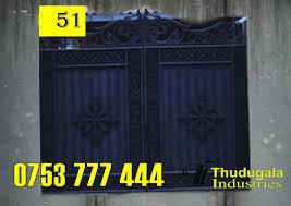 Steel Grill Gate Sri Lanka Thudugala Industries