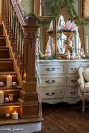 entry decor it u0027s a wonderful house christmas home tour blush pink christmas