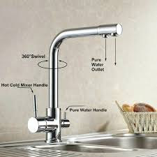 kitchen faucet water purifier kitchen faucet water purifier faucet solid brass 360 degree swivel