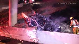 Sigalert Com Los Angeles Traffic Map by 2 People Killed In Crash On 55 Freeway Transition To The 22