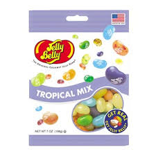 tropical mix jelly beans 7 oz bag jelly belly company