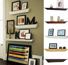 livingroom shelves floating shelves in living room delectable minimalist outdoor room