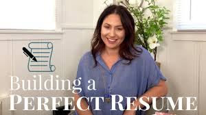Tips For Building A New Home Tips For Building A Perfect Resume The Intern Queen Youtube